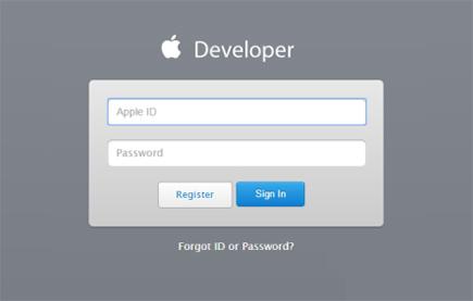 ios注册开发者账号流程