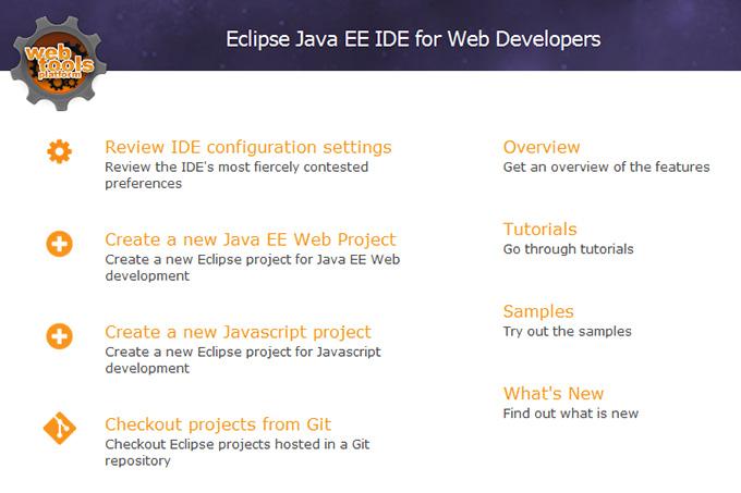 Eclipse成功安装