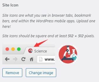 WordPress默认蓝色 favicon.ico 图标的替换/去除方法